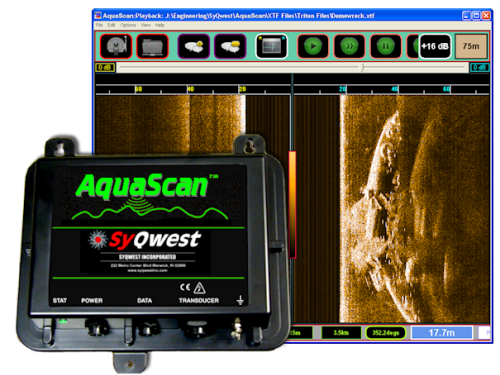 SyQwest AquaScan Precision Side Scan Sonar