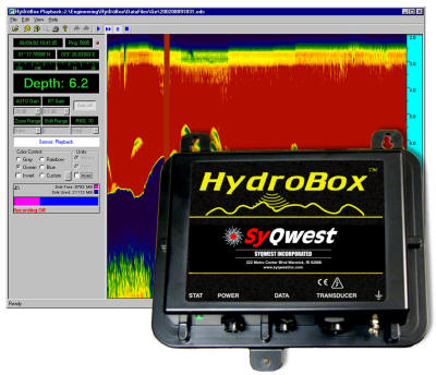 SyQwest HydroBox Hydrographic Echo Sounder